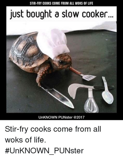 Where Memes Come From - stir fry cooks come from all woks of life just bought a