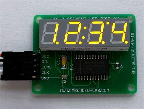 Yellow Decimal 0 36 4 Digit Led Display 7 Segments Kuning Tm1637 serial four digit 7 segment led display module embedded lab