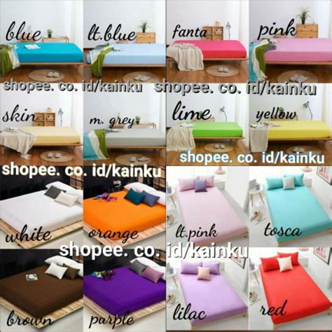 Sprei Waterproof Polos Anti Air big promo sprei waterproof packing ukir polos