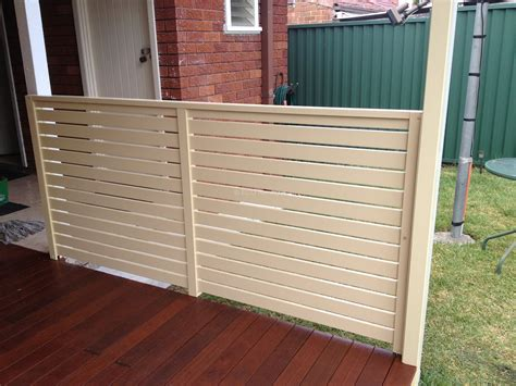 slats and louvers fence eco awnings