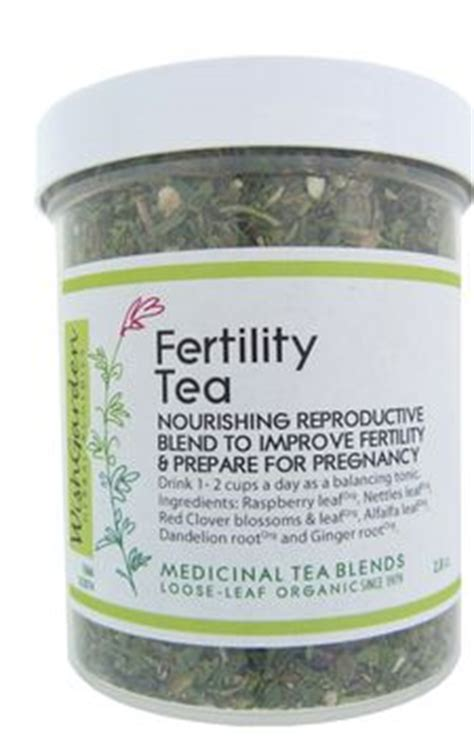 Best Detox Tea For Fertility by Wish Garden Herbs Fertility Tea Nourishing Reproductive