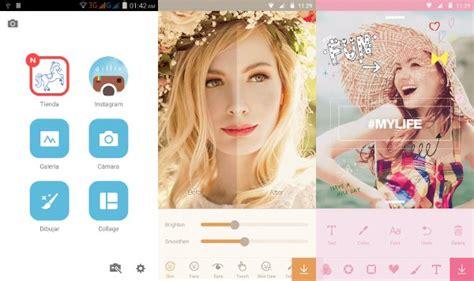 efectos para decorar fotos en el celular 10 aplicaciones para tomar selfies con efectos y pegatinas