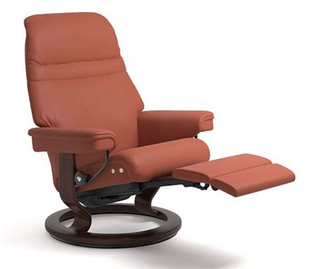 Classic Recliner Chairs by Stressless Power Legcomfort Classic Base Recliner