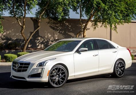2014 cadillac cts with 20 quot gianelle in matte black