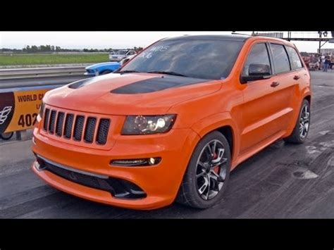 orange jeep grand 800 hp orange jeep grand drag racing will hurt