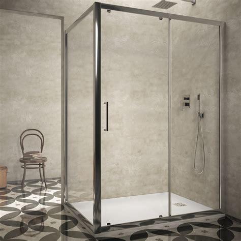 altezza box doccia box doccia 80x120 cristallo trasparente altezza 190