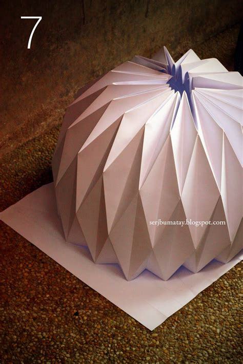 origami tutorial on pinterest how to make an origami paper lantern pin now try later