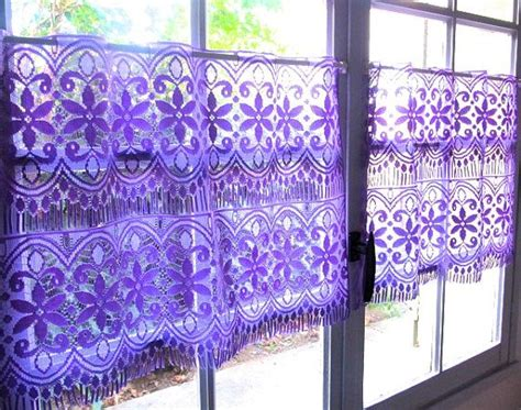 purple lace curtains purple lace curtains pair french cafe curtains lavender