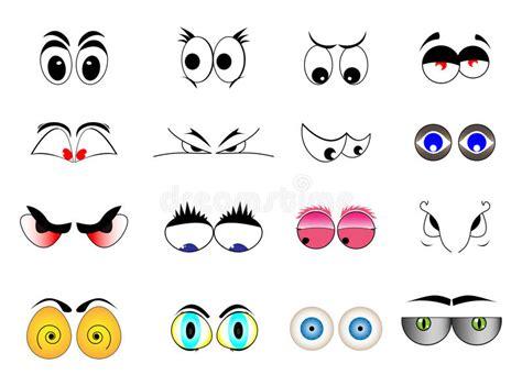 clipart occhi yeux de bande dessin 233 e illustration de vecteur