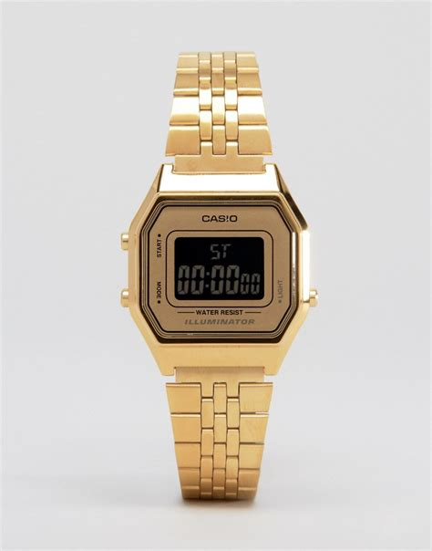 Casio Gold casio casio la680wega digitale mini armbanduhr in