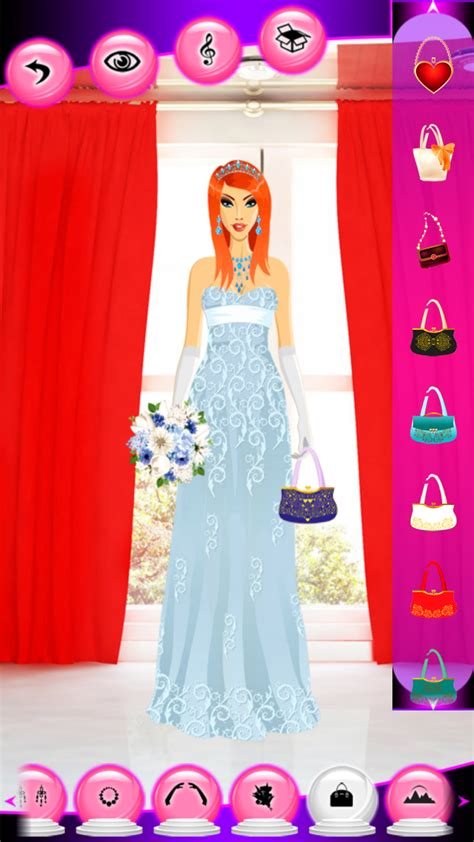wedding dress  games