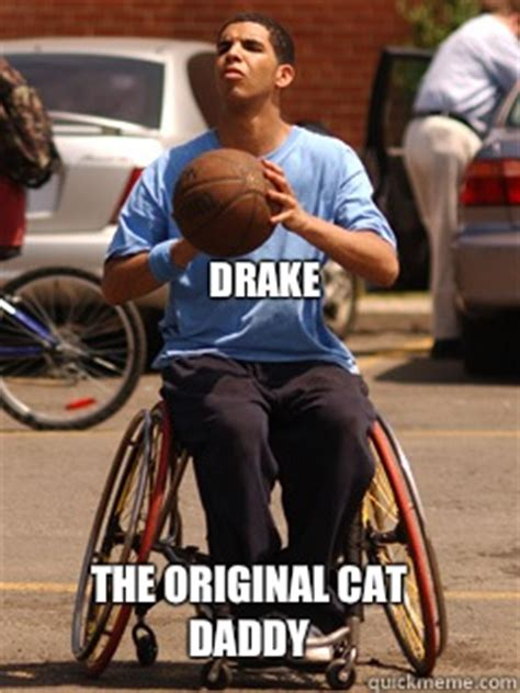 Drake Wheelchair Meme - drake degrassi wheelchair memes