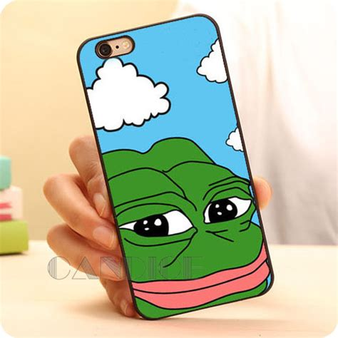 plastic cover meme frog meme animal desgin plastic mobile phone