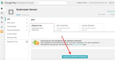 upload apk on play android app distribution tutorial from zero to play store