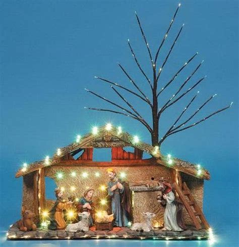 china fiber optic nativity yhd 093 china christmas gift