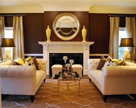 transitional formal living room traditional living
