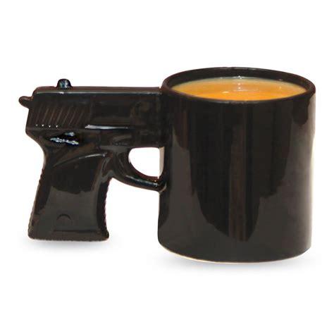 Weird Coffee Mugs by Gun Mug