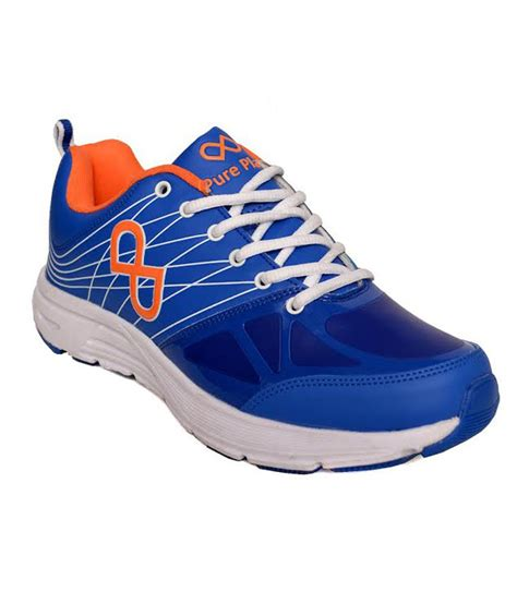 play shoes play blue synthetic leather sport shoes price in