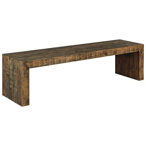 large dining bench signature design by ashley sommerford large dining room