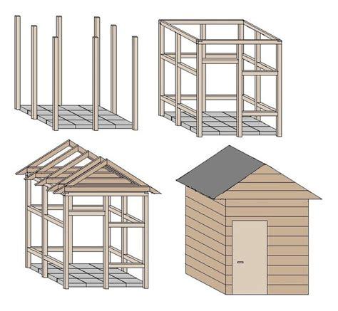 Unterstand Für Holz 876 by Die Besten 25 Gartenhaus Selber Bauen Ideen Auf