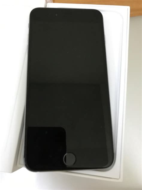 Apple Iphone 6 Plus 16 Gb Grey Free Tempered Glass iphone 6 plus 16gb gray secondhand my