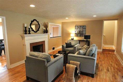 living room remodel before and after a bend 70 s home remodeled timberline construction of bend