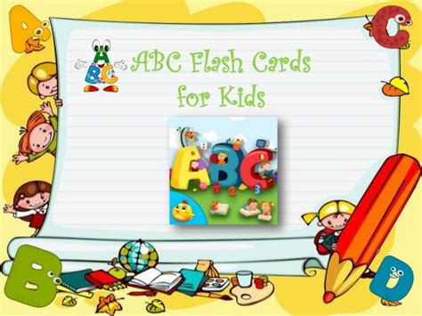 cards for toddlers abc flash cards for