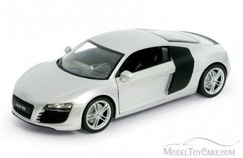 Audi R8 Spielzeugauto by Audi R8 White Welly 22493 1 24 Scale Diecast Model