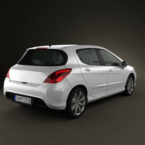 peugeot 308 models peugeot 308 2012 3d model hum3d