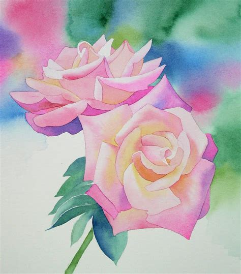 l use an blumen 4425 barbara fox studio watercolor painting demonstration by
