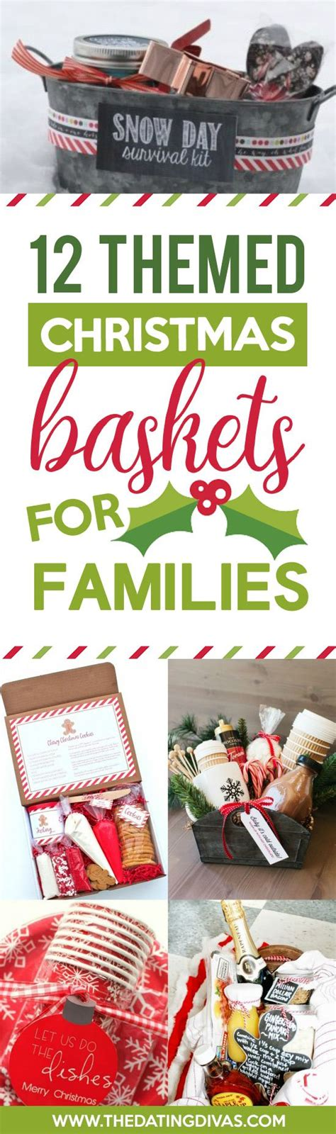themed gifts for family 50 themed christmas basket ideas christmas gifts gift