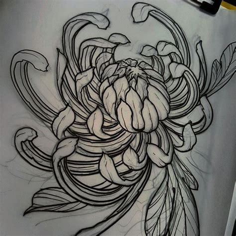 chrysanthemum tattoo 25 best ideas about chrysanthemum on