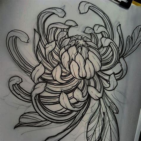 japanese chrysanthemum tattoo 25 best ideas about chrysanthemum on