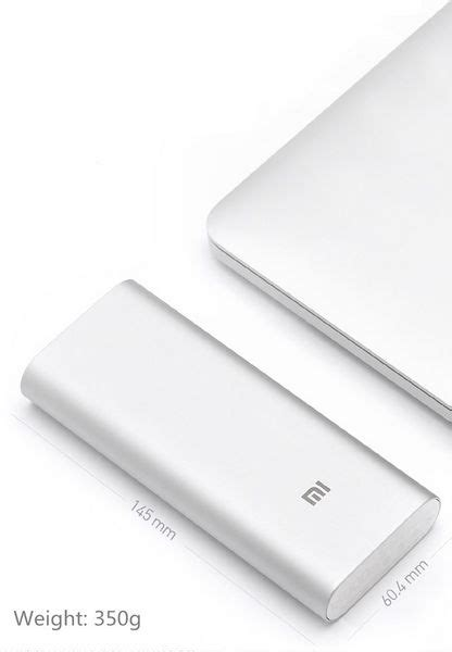 Xiaomi Mi Powerbank 16 000 Mah xiaomi mi power bank batterie externe de 16 000 mah 224 27 dollars