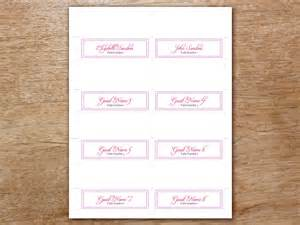 place card template sheets place card template 6 per sheet myideasbedroom