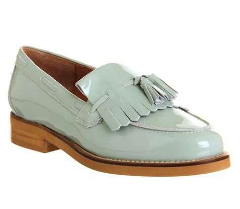 office loafers office extravaganza loafer mint patent leather flats