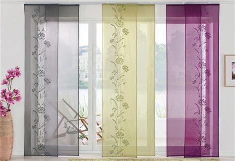 kadeco flächenvorhang nauhuri schiebevorh 228 nge wohnzimmer modern neuesten