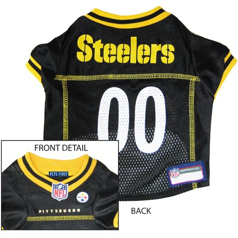 steelers jersey pittsburgh steelers pro jersey athletic pets