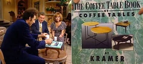 10 Wonderful Fake Books By Tv Characters Page 5 Flavorwire Kramer Coffee Table Book