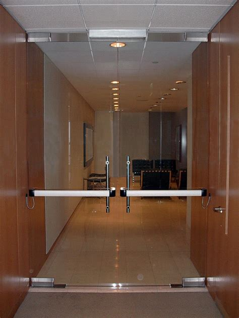 Panic Doors Panic Bars Installed And Replaced Panic Bars For Glass Doors
