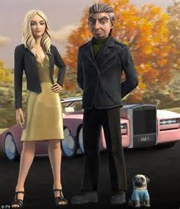 Rosamund pike s lady penelope gets a makeover in thunderbirds are go