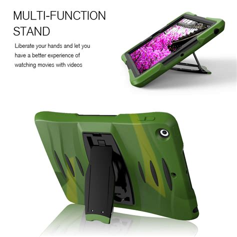 Hardcase Rugged Armor Bumper Hybrid Cover Plastic Air 1 5 shockproof hybrid rugged bumper protective screen protector for 2 3 4 ebay
