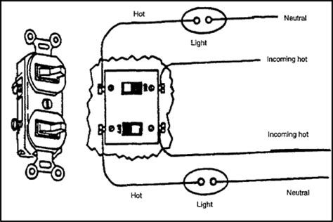 duplex outlet with switch wiring diagram get free image