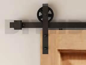 Barn Door Closer Diyhd 8ft Industrial Wheel Sliding Barn Wood Door Interior Closet Door Kitchen Door Track