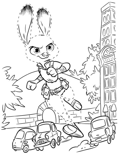 coloring pages zootopia coloring pages best coloring pages for