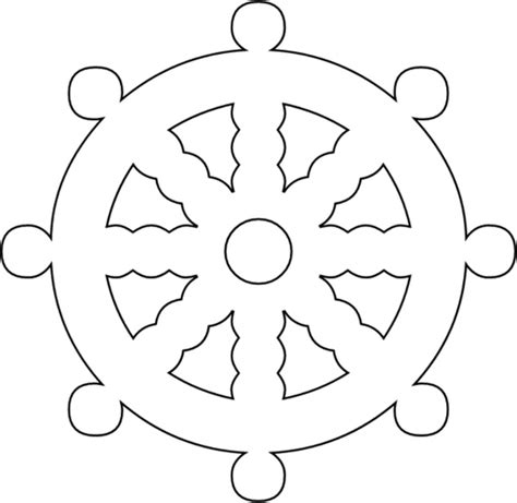 ship wheel template ship wheel free vector in open office drawing svg svg