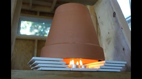 diy tiny house heater youtube
