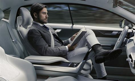 Car And Truck Upholstery by Read While You Drive Volvo Concept 26 Is The Autonomous