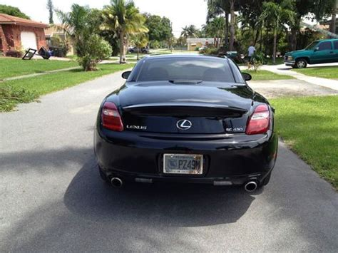 lexus convertible 4 door buy used 2007 lexus sc430 convertible 2 door 4 3l in dania