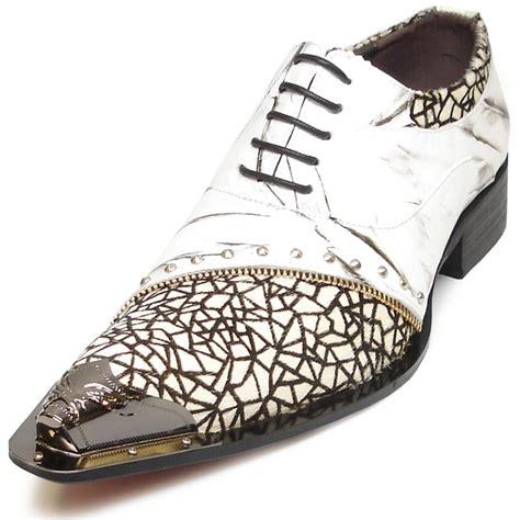 Aureliya Shoes fi 6931 white fiesso by aurelio garcia mens leather shoes